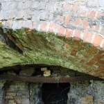 Inside view of iron furnace