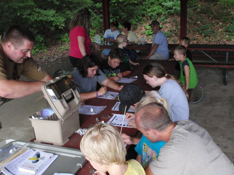 Local Children Experience Nature at County Sponsored: 'Jakes Field Day'
