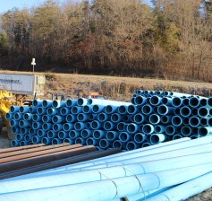 Waterlines to be installed