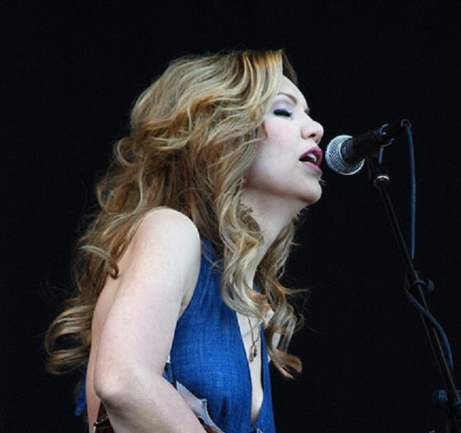 "Alison Krauss performing ""When You Say Nothing at All"" Photo Courtesy: Josh Rhinehart"