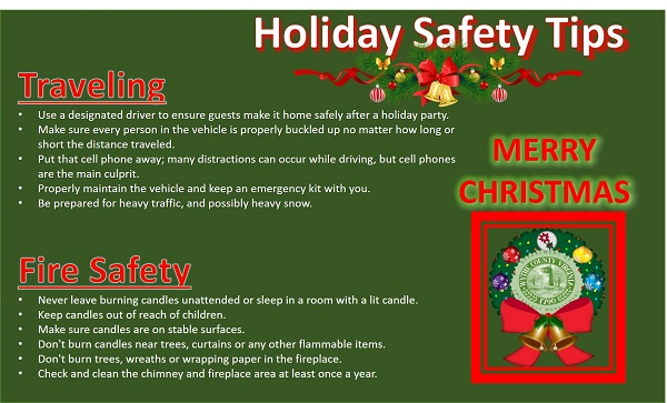 rs Christmas Holiday Safety